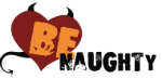 BeNaughty home, Online Dating Site, Company Name Logo